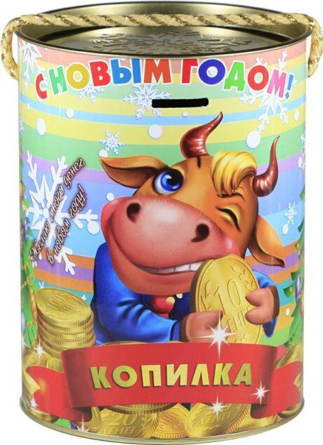 """новогодний тубус """"рубль"""" b00002 фотография"""
