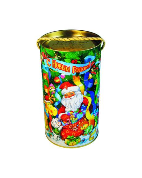 """новогодний тубус """"серпантин"""" b00093 фотография"""