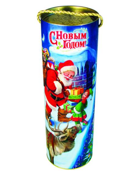 """новогодний тубус """"рождественская история"""" b00107 фотография"""