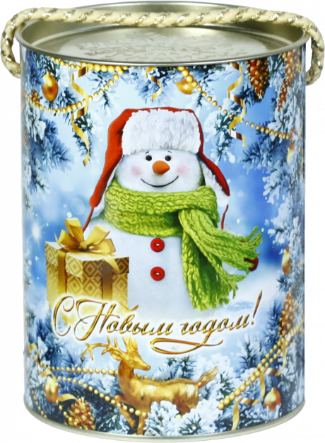 "новогодний тубус ""пуговка"" b00154 фотография"