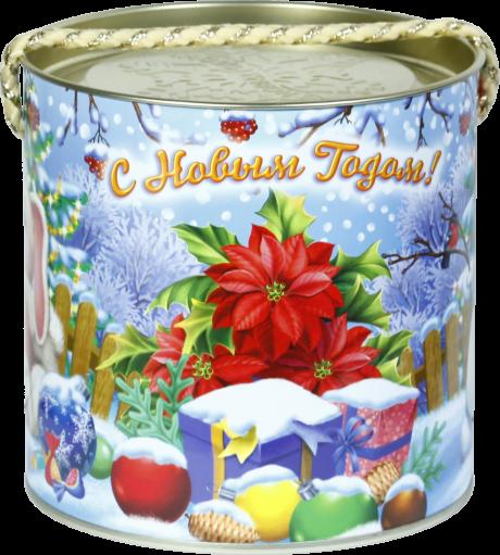 """новогодний тубус """"зайка"""" b00164 фотография"""